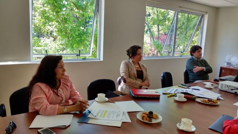 Reunión con líderes del Comité de Planificación por Facultad